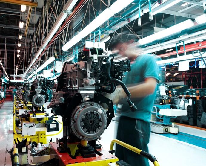 Bilden av industrin