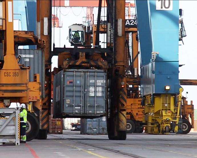 Handelskammaren om hamnstrejken