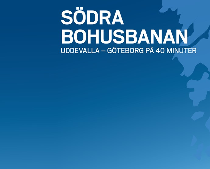 Bygg ut  Södra Bohusbanan  – stärk hela regionen